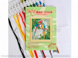 Набор для вышивания «Ярких красок хоровод» 16×14 см, М-033
