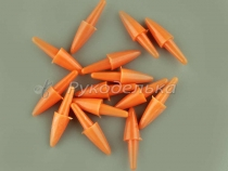 Нос морковка прямая для снеговика. 11х5мм