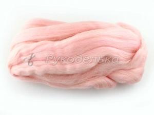Шерсть для валяния. 50гр. Розовый кварц.