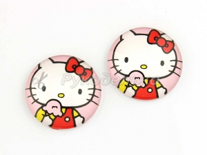 Кабошон Hello Kitty. 25мм.