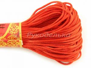 Шнур для браслетов Красная нить 1,5мм