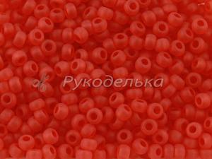 Бисер чешский Preciosa красный матовый (90050) NT 10гр