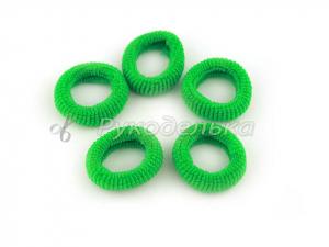Резинка для волос 2,5см. Зеленая