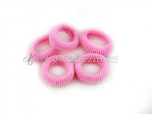 Резинка для волос 2,5см. Розовая
