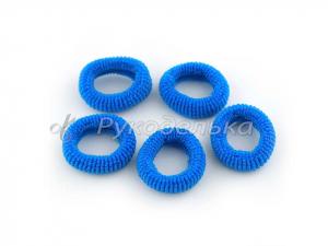 Резинка для волос 2,5см. Синяя