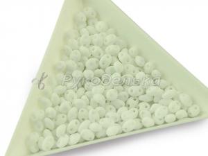 Бисер чешский Preciosa TWIN Белый (03050) NO. 10гр