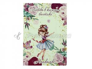 Карточка для бантиков и заколок 10х14 см. №11