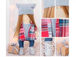 Мягкая кукла «Зои», набор для шитья.