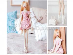 """Мягкая кукла """"Кейт"""", набор для шитья."""