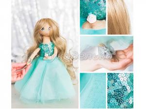 Интерьерная кукла «Флёр», набор для шитья.