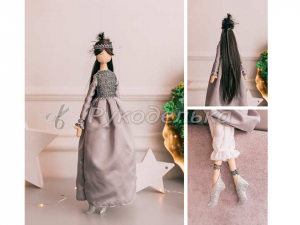 Мягкая кукла  Ясмина, набор для шитья.