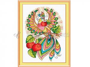 """Набор для вышивания """"Сказочная птица"""", 24х16см. Арт М-049"""