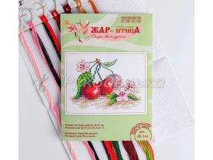 Набор для вышивания «Сочная вишня» 9×11 см, арт М-516