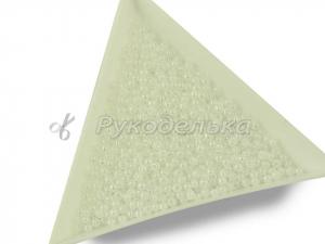 Бисер чешский Preciosa 10/0. Белый (57102) OS. 10гр.