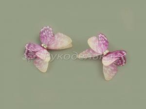 Бабочка шифоновая 3см №13.