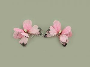 Бабочка шифоновая 3см №28.