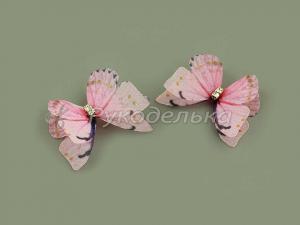 Бабочка шифоновая 3см №12.