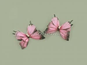 Бабочка шифоновая 3см №39.