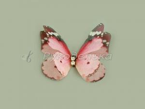 Бабочка шифоновая 4,5см №16.