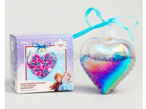 """Набор для творчества """"Новогодняя игрушка с растущими шариками"""", Холодное сердце"""