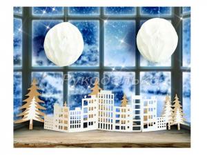 Набор для декора окон «Праздник в каждом доме», 21 х 29,7 см