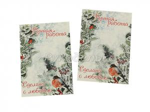 Карточка для бантиков и заколок 7х10 см. №16
