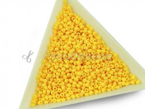 Бисер чешский Preciosa 10/0. Желтый (16183) DA. 10гр