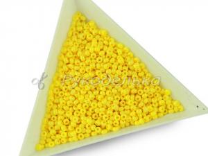 Бисер чешский Preciosa 10/0. Желтый (16386) CSTCD. 10гр