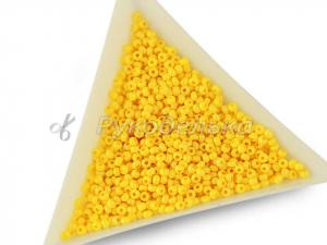 Бисер чешский Preciosa 10/0. Желтый (16383) CSTCD. 10гр