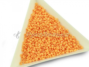 Бисер чешский Preciosa 10/0. Оранжевый (16389) CSTCD. 10гр