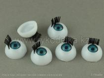Глазки с ресничками 14мм