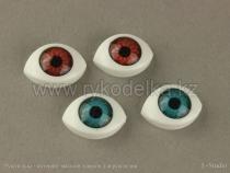 Глазки натуральные 16x11мм