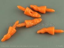 Нос морковка для снеговика. 18х8мм